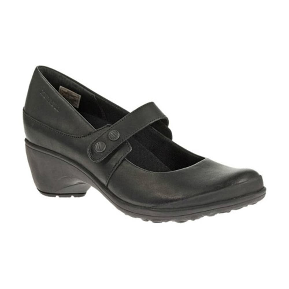 MERRELL Women's Veranda Emme Shoes, Black - BLACK