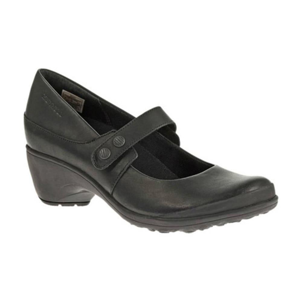 MERRELL Women's Veranda Emme Shoes, Black - BLACK