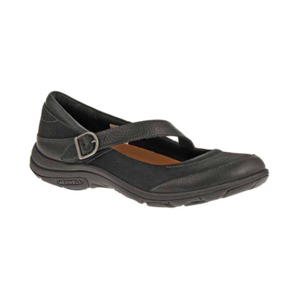 MERRELL Women's Dassie MJ Shoes, Black - BLACK