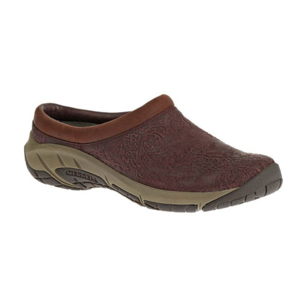 MERRELL Women's Encore Frill Shoes, Burgundy - BURGUNDY