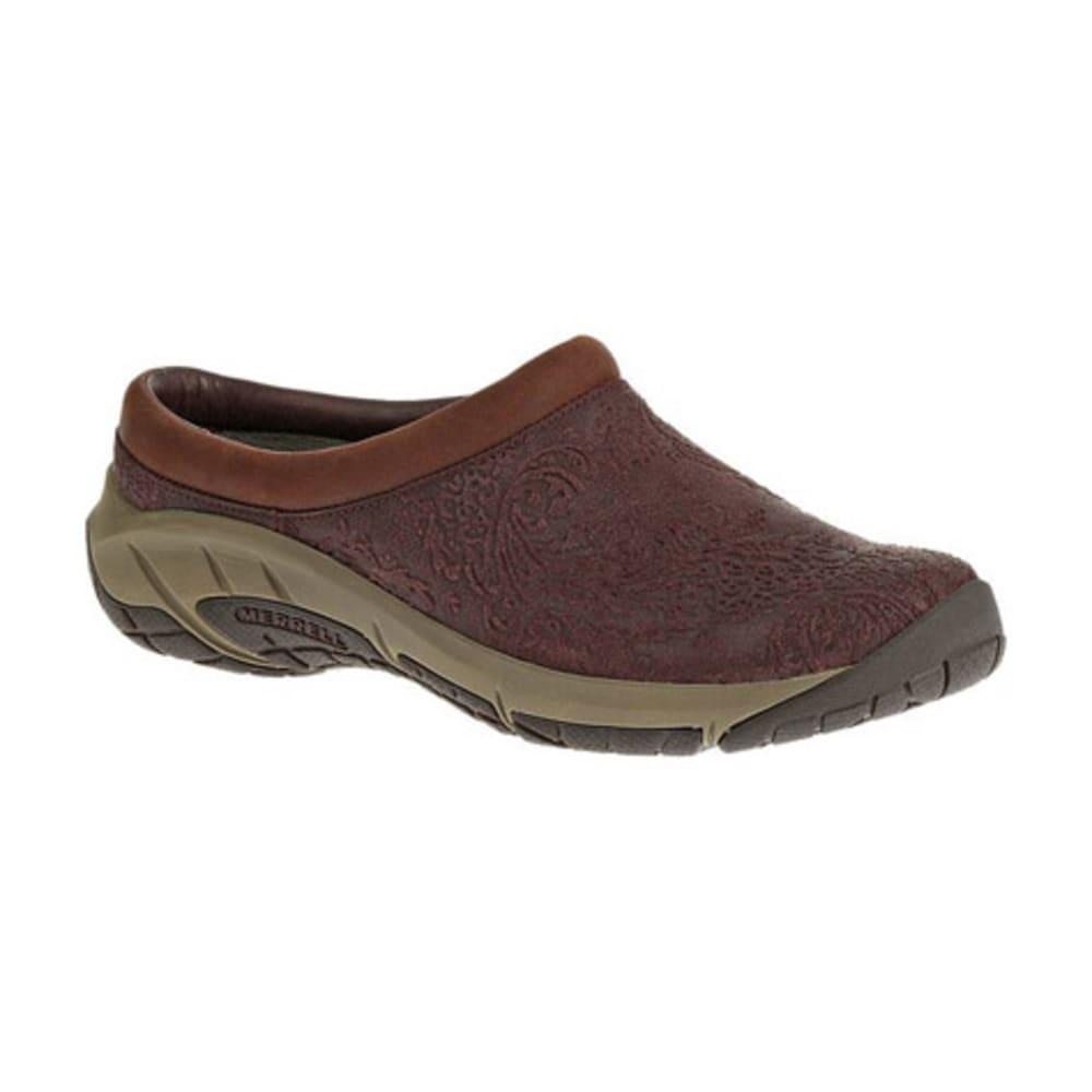 MERRELL Women's Encore Frill Shoes, Burgundy - BURGUNDY