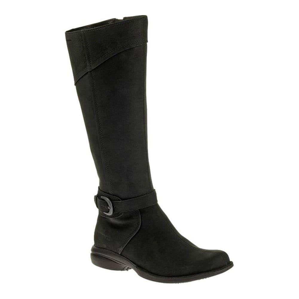 MERRELL Women's Captiva Buckle-Up Waterproof Boots, Black - BLACK