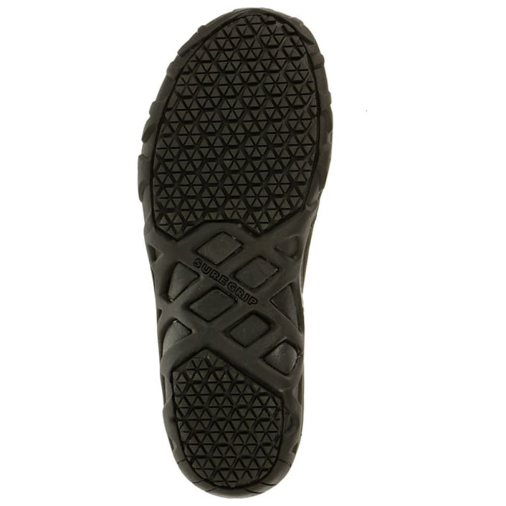 MERRELL Men's Jungle Moc Pro Grip Nubuck Shoes - BLACK
