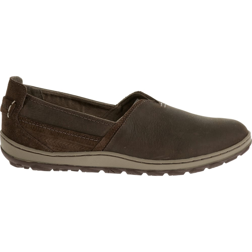 MERRELL Women's Ashland Slip-On Shoes, Coffee Bean - COFFEE BEAN