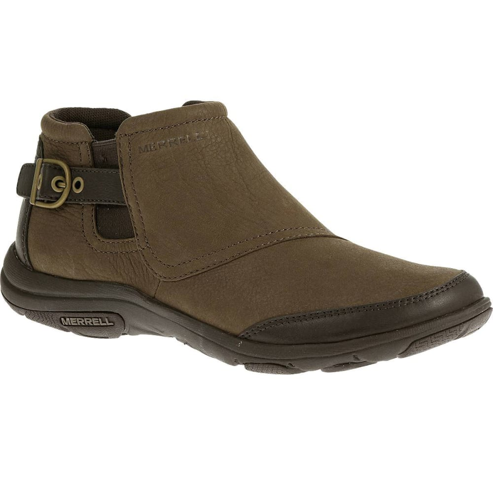 merrell s dassie ankle boots char brown