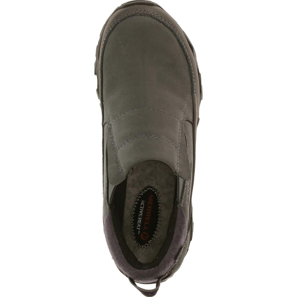 MERRELL Women's Polarand Rove Moc Waterproof Winter Shoes - GRANITE
