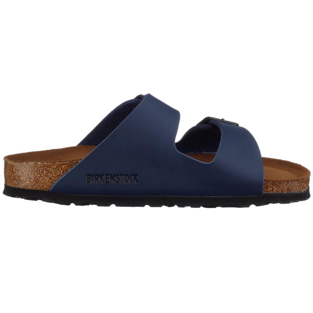 BIRKENSTOCK Women's Arizona Soft Sandals, Narrow, Navy - NAVY