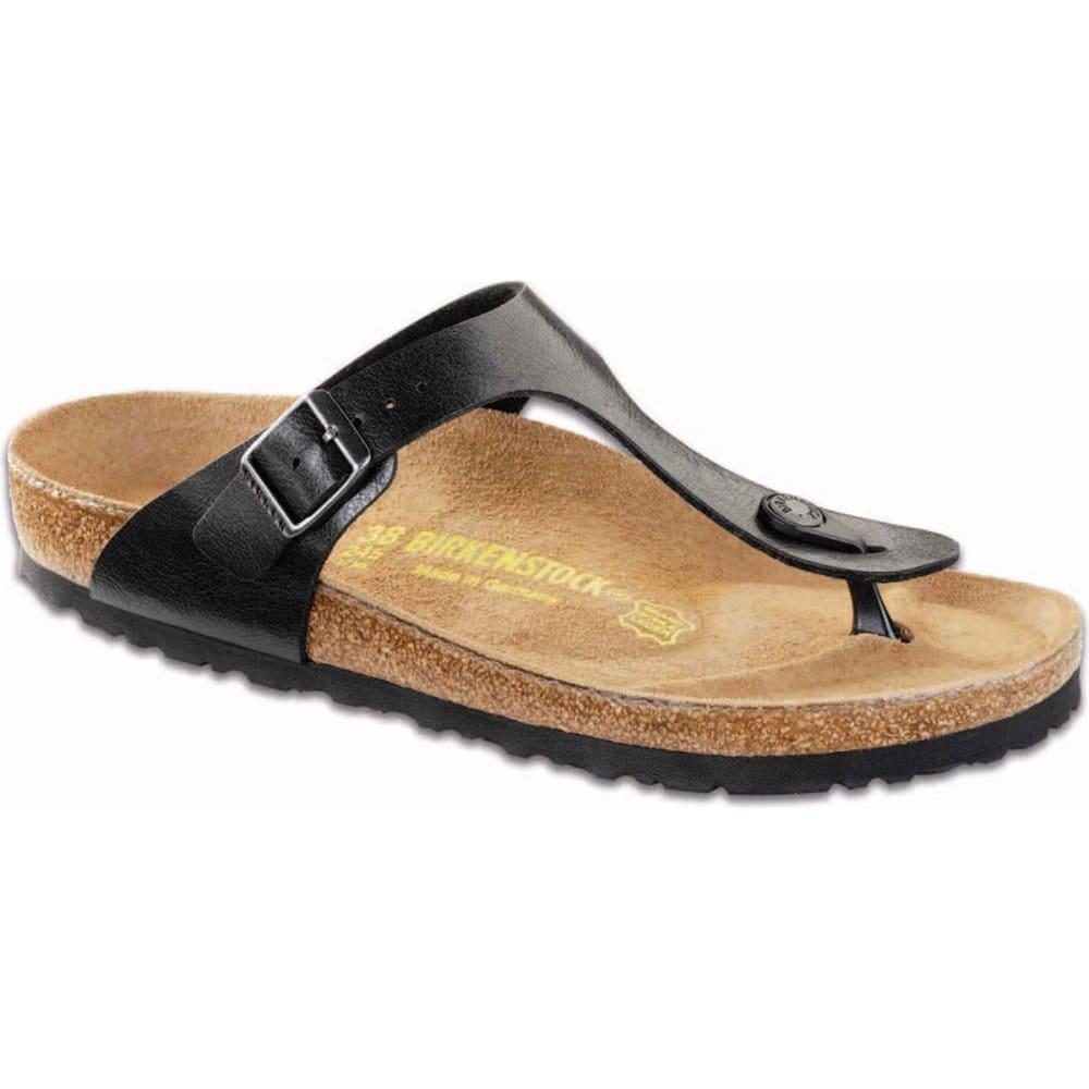 BIRKENSTOCK Women's Gizeh Sandals, Regular, Licorice Black - LICORICE