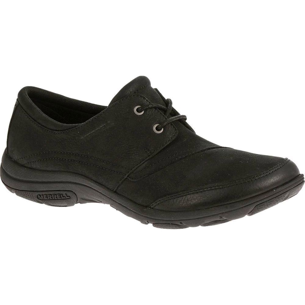 merrell s dassie tie shoes black