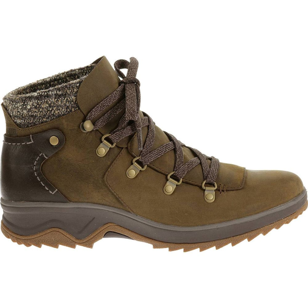 MERRELL Women's Eventyr Bluff Waterproof Boots, Dark Earth - DARK EARTH