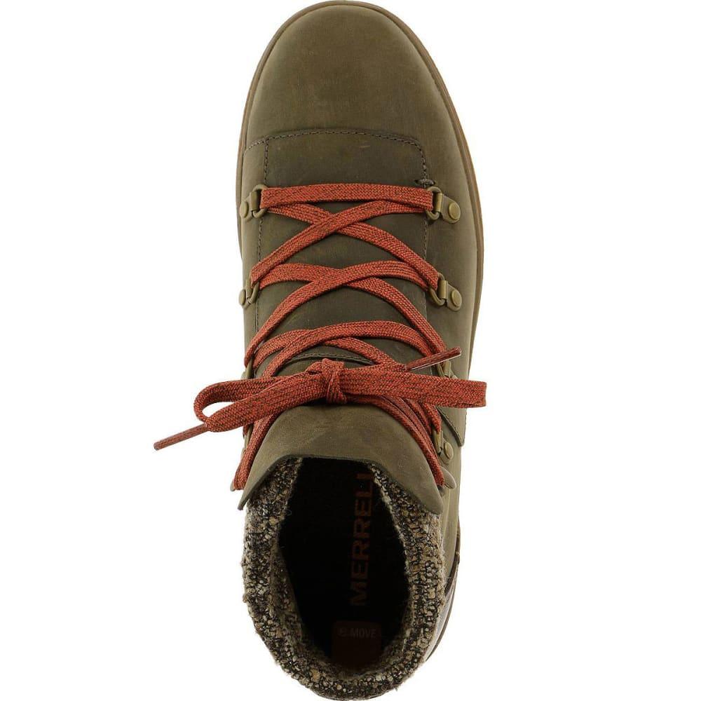 MERRELL Women's Eventyr Bluff Waterproof Boots, Bungee Cord - BUNGEE CORD