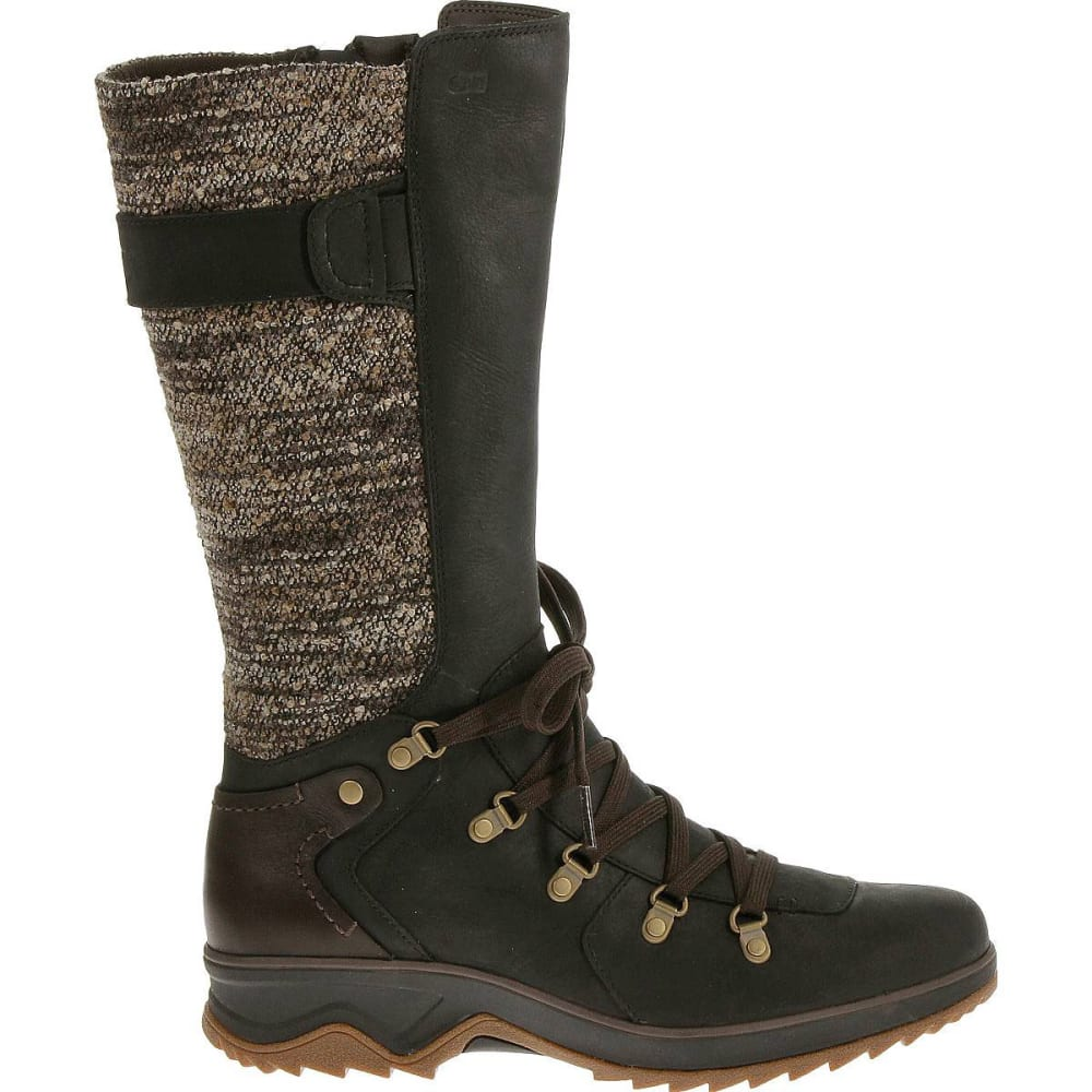 MERRELL Women's Eventyr Peak Waterproof Boots, Black - BLACK