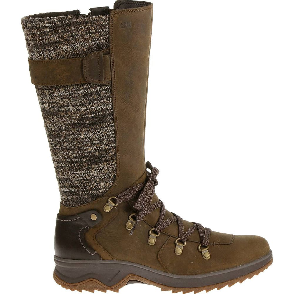 MERRELL Women's Eventyr Peak Waterproof Boots, Dark Earth - DARK EARTH