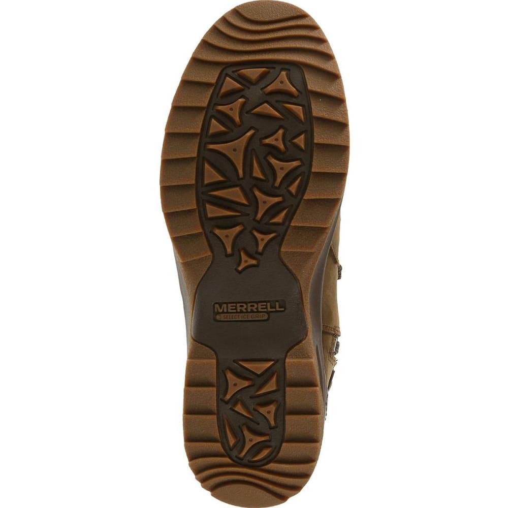 MERRELL Women's Eventyr Peak Waterproof Boots, Dark Earth - DARK EARTH