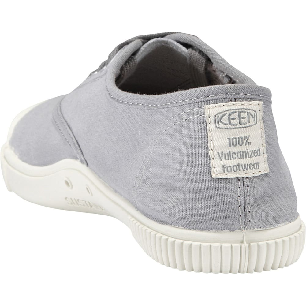 KEEN Women's Maderas Canvas Oxford Shoes, Neutral Gray - NEUTRAL GREY
