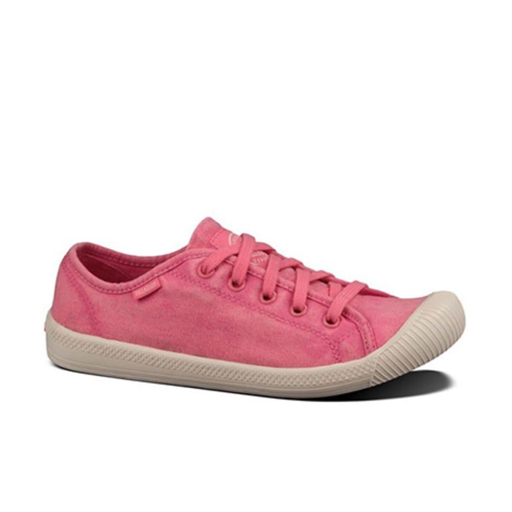 PALLADIUM Women's Flex Lace Shoes, Pink - PINK