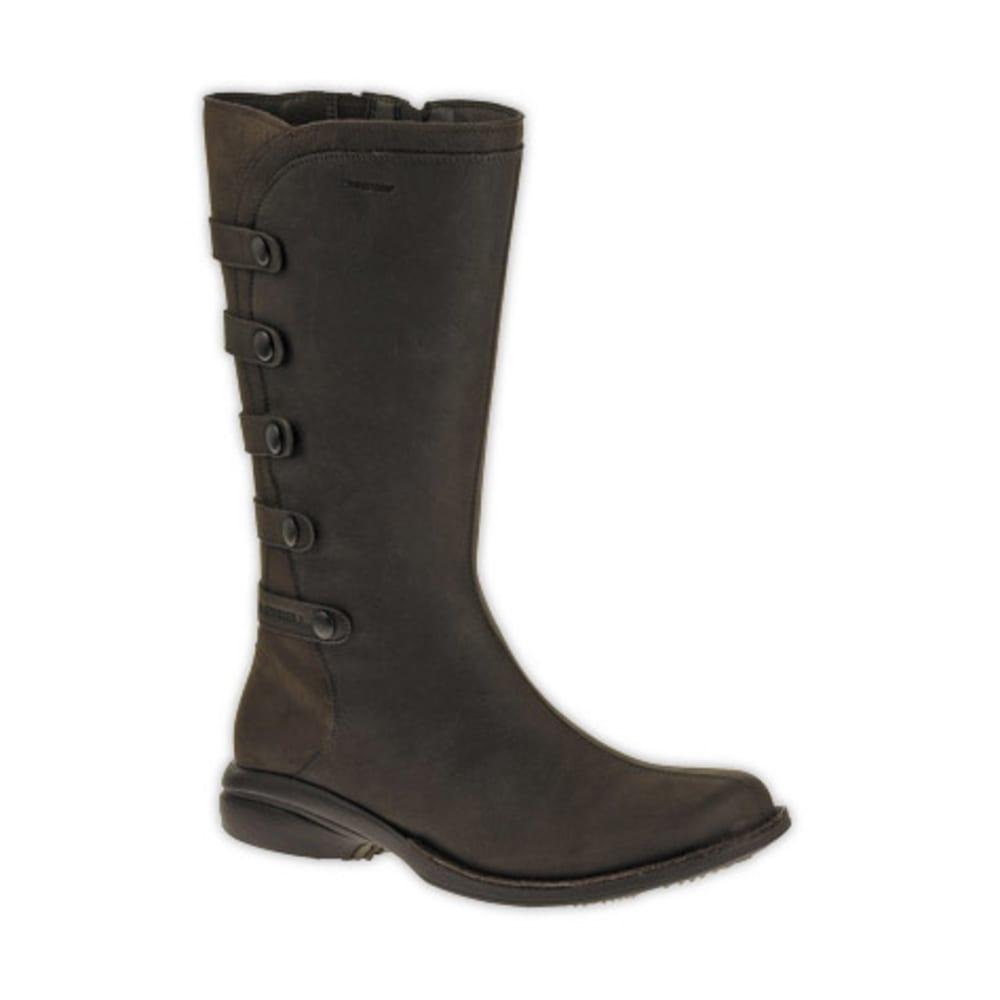 MERRELL Women's Captiva Launch 2 Waterproof Boots, Espresso - ESPRESSO