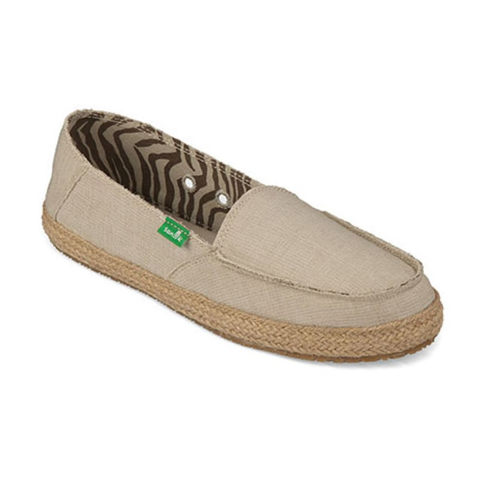 SANUK Women's Fiona Shoes, Natural - NATURAL