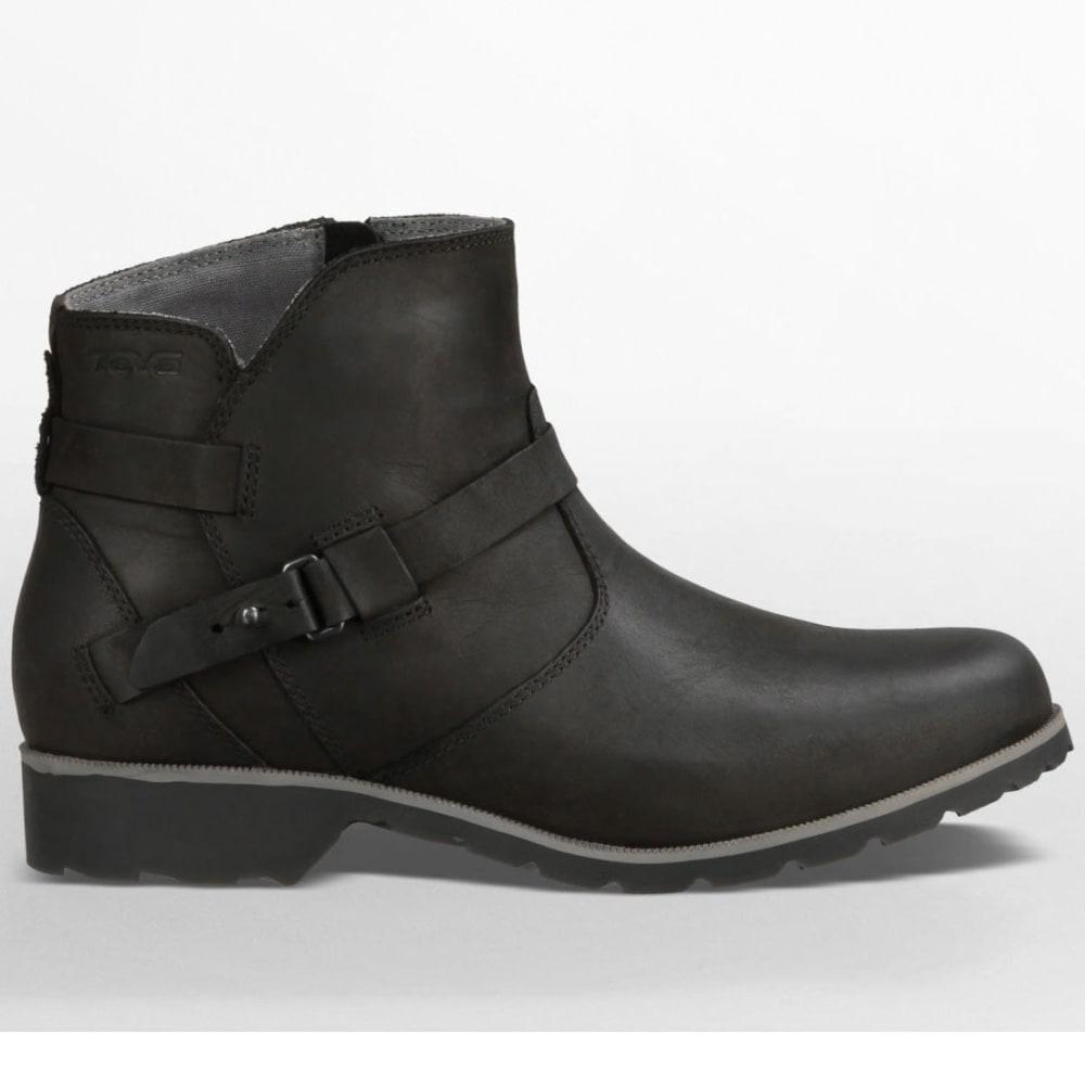 TEVA Women's De La Vina Ankle Boots, Black - BLACK