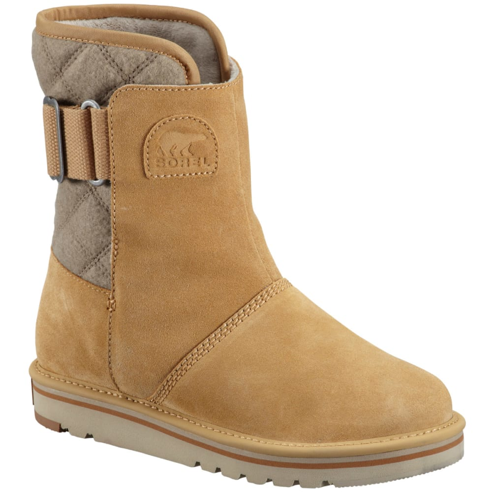 SOREL Women's Newbie Boots, Curry - CURRY