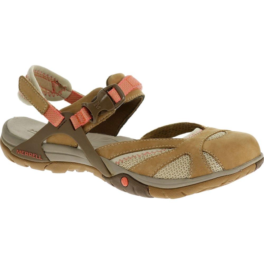 MERRELL Women's Azura Wrap Sandals, Tan - TAN