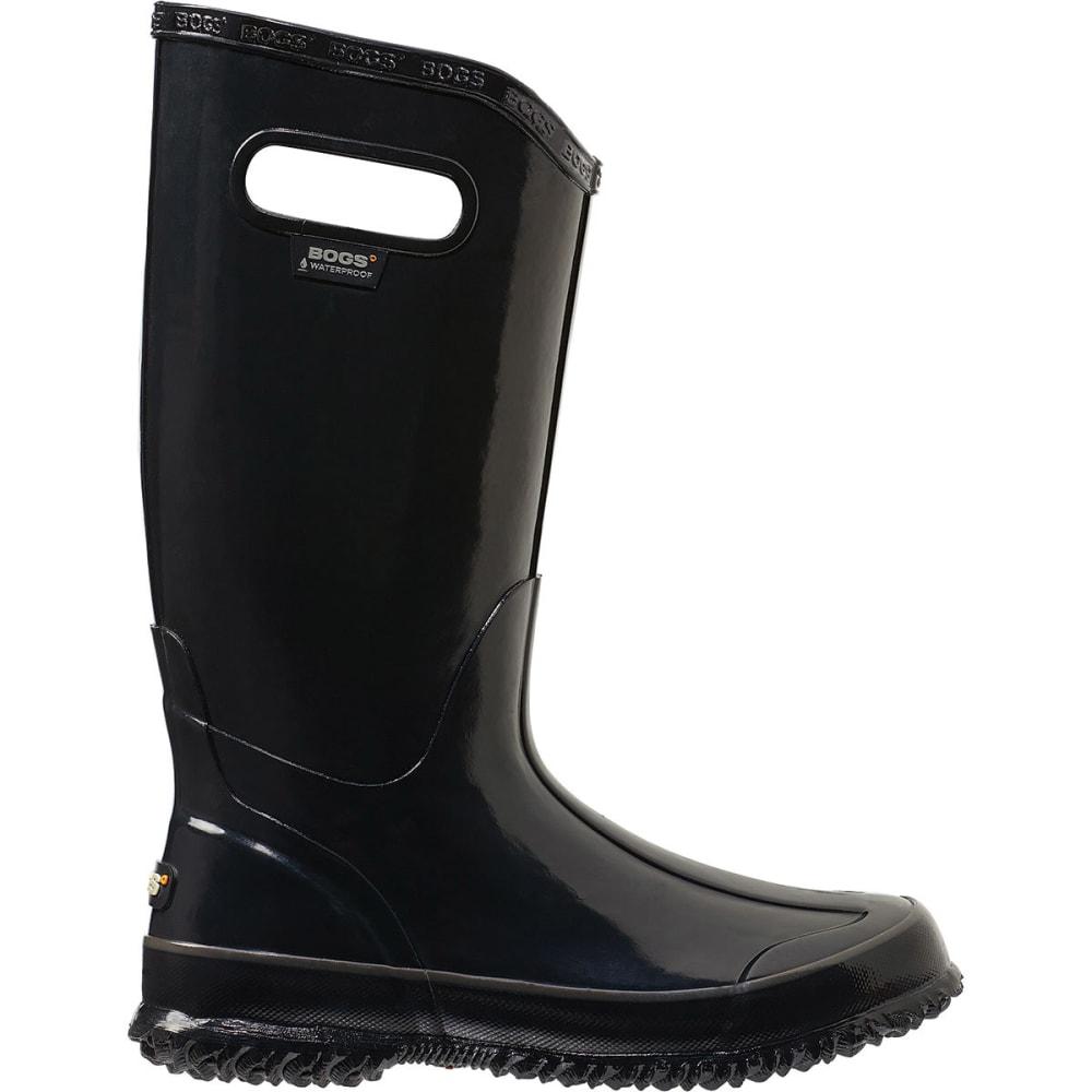 BOGS Women's Rain Boots, Black - BLACK