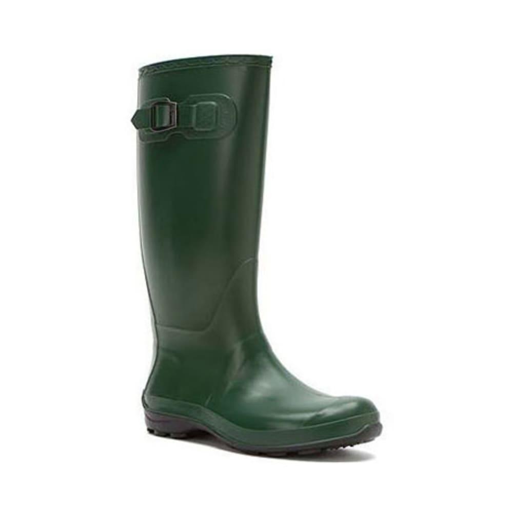 KAMIK Women's Olivia Tall Rain Boots, Green - GREEN