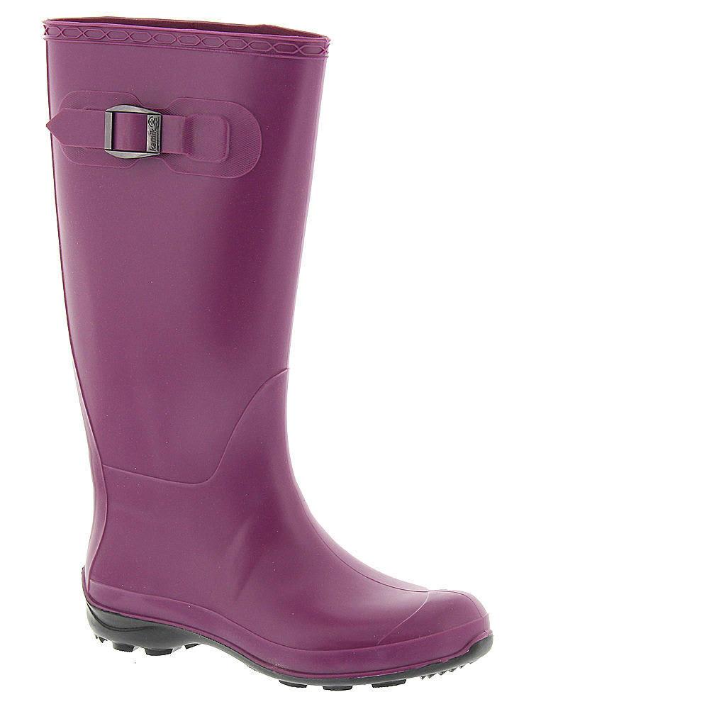 KAMIK Women's Olivia Tall Rain Boots, Berry - BERRY