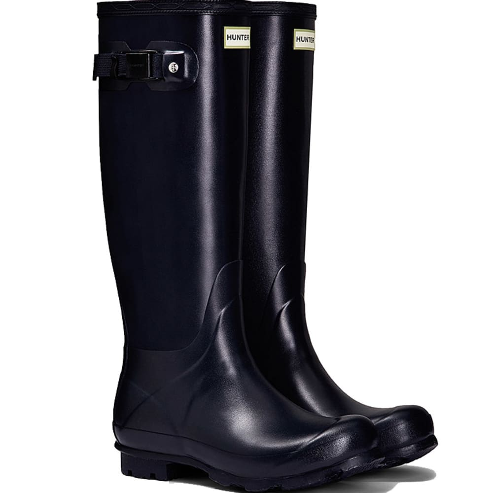 HUNTER Women's Norris Field Rain Boots - NAVY