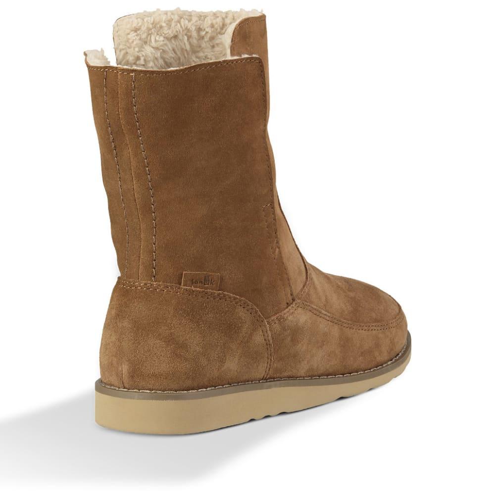 ... SANUK Women  39 s Drop Top Boots - CHESTNUT ... 4b70597863fb