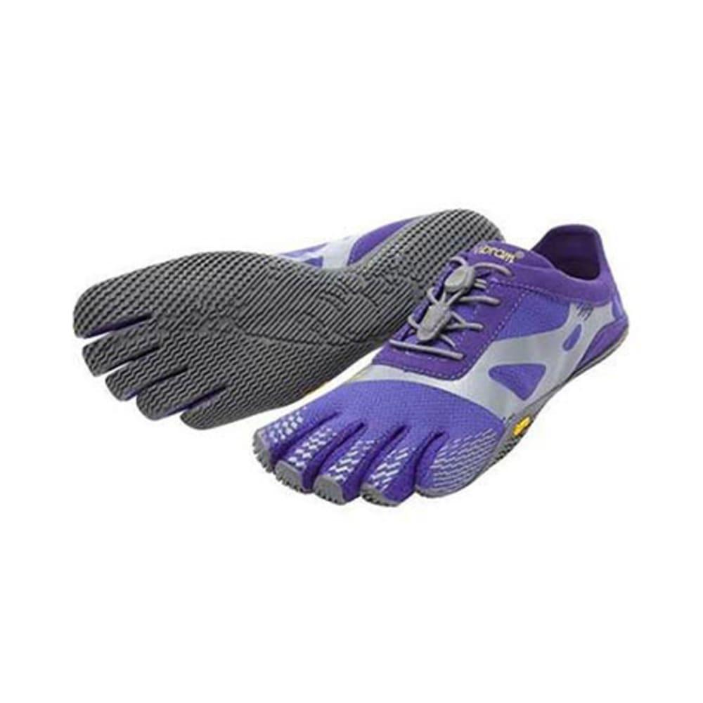 VIBRAM FIVEFINGERS Women's KSO Evo Barefoot Shoes, Purple/Grey - PURPLE/GRY