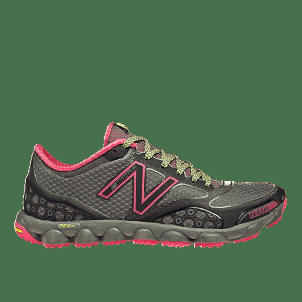 NEW BALANCE Women's Minimus 1010 Trail Running Shoes, Grey/Pink - GREY/PINK