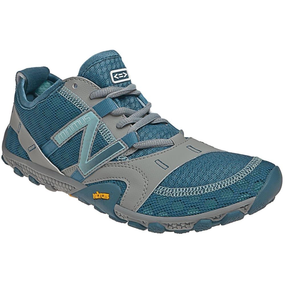 efdecd9e40e0a NEW BALANCE Women's Minimus 10V2 Trail Running Shoes, Grey/Blue