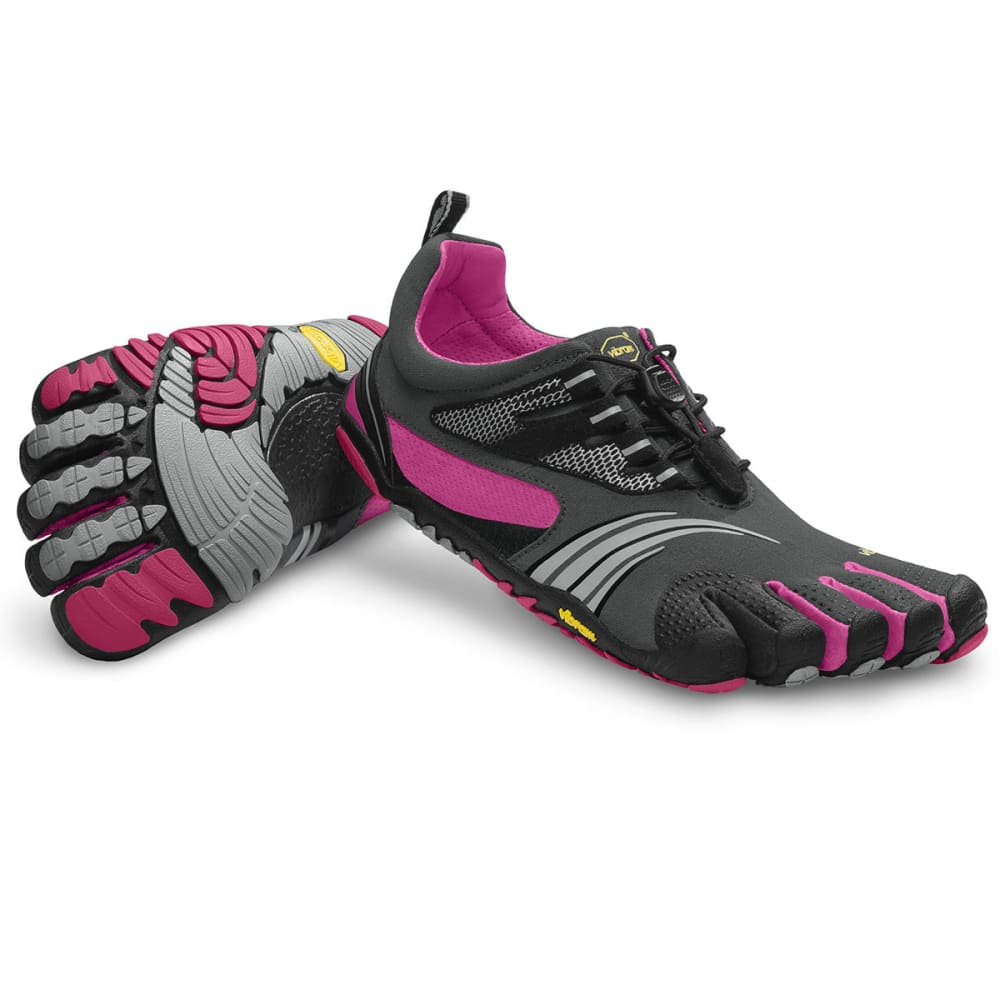 VIBRAM FIVEFINGERS Women's KMD Sport LS Barefoot Fitness Shoes - GREY BLEND