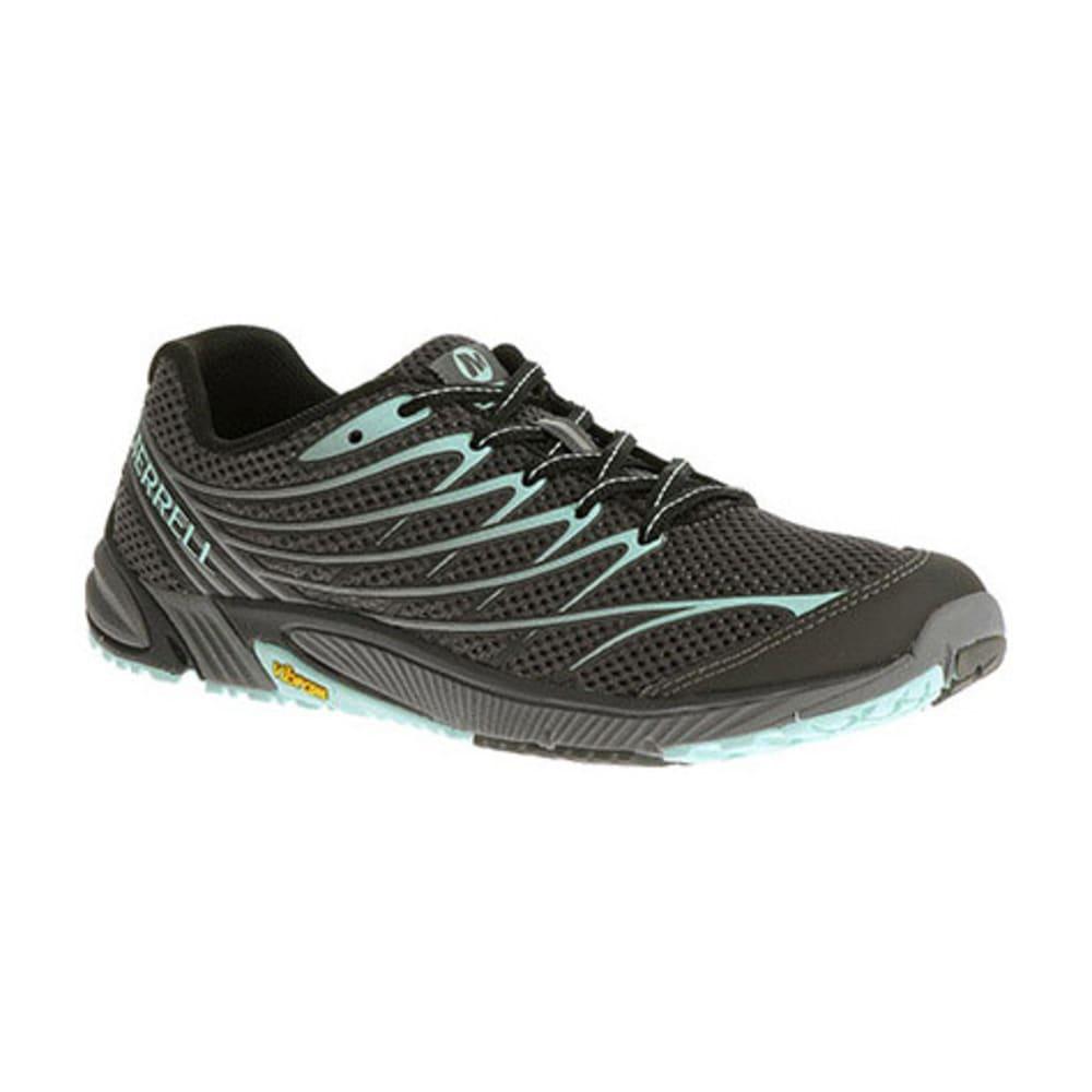 MERRELL Women's Bare Access Arc 4 Running Shoes, Black/Adventurine - BLACK/ADVENTURINE
