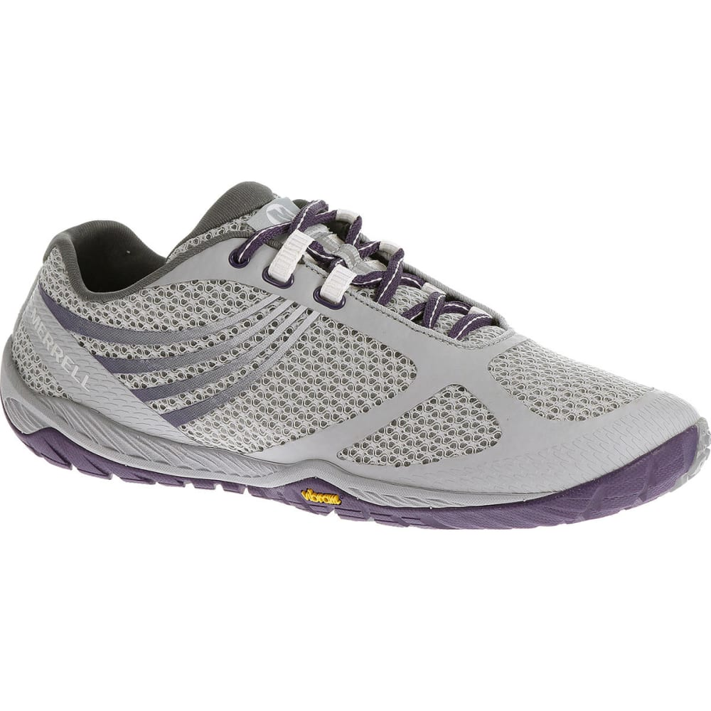 MERRELL Women's Pace Glove 3 Running Shoes - LIGHT GREY/PARACHUTE