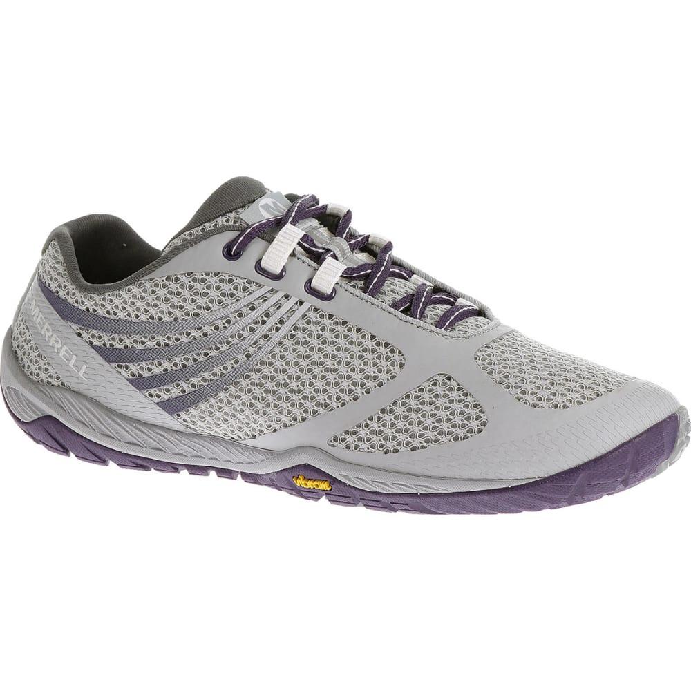 MERRELL Women's Pace Glove 3 Running Shoes - LIGHT GREY/PARACHUTE