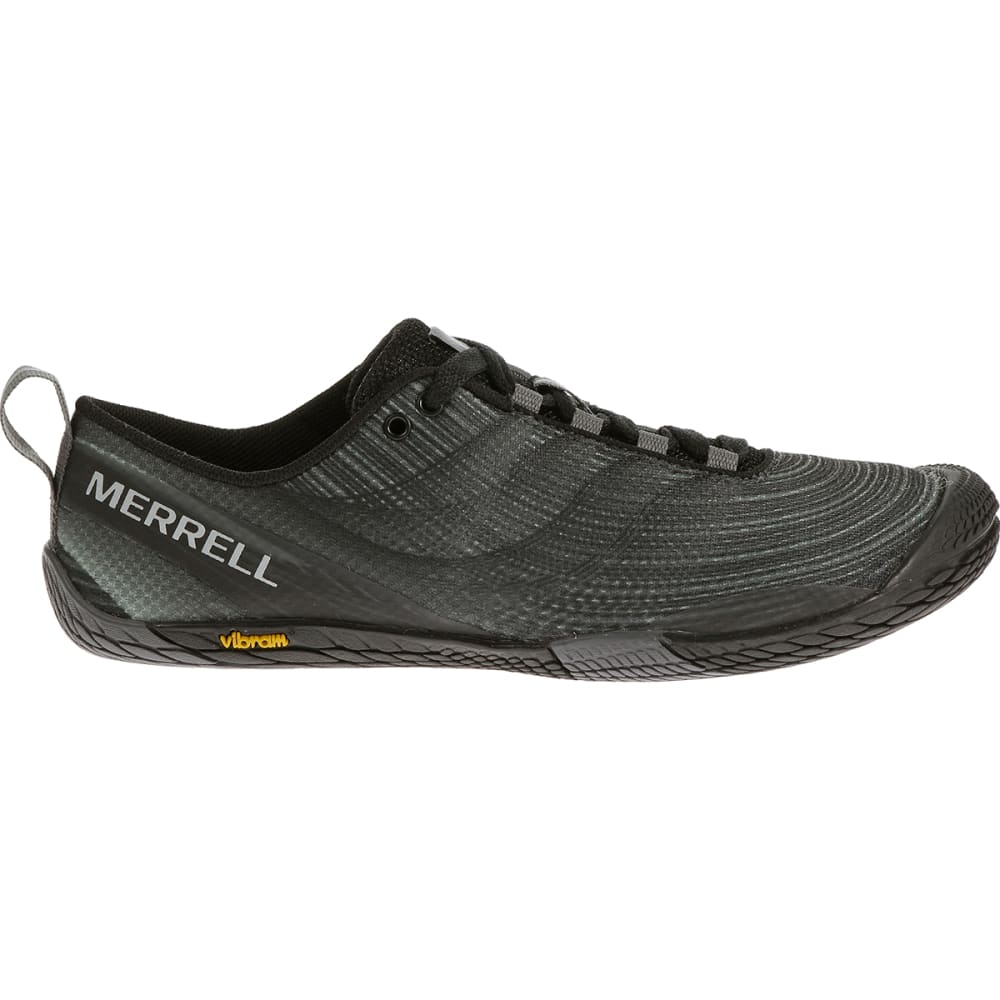 MERRELL Women's Vapor Glove 2 Running Shoes, Black/Castle Rock - BLACK/CASTLE ROCK