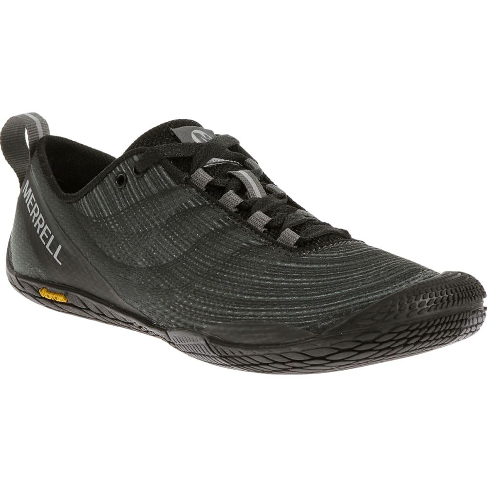 MERRELL Women's Vapor Glove 2 Running Shoes, Black/Castle Rock - BLACK/CASTLE ROCK