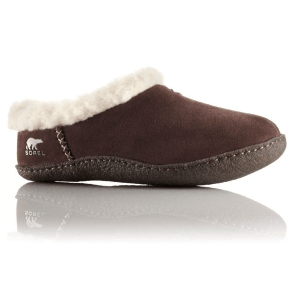 SOREL Women's Nakiska Slippers - HAWK BROWN- 248