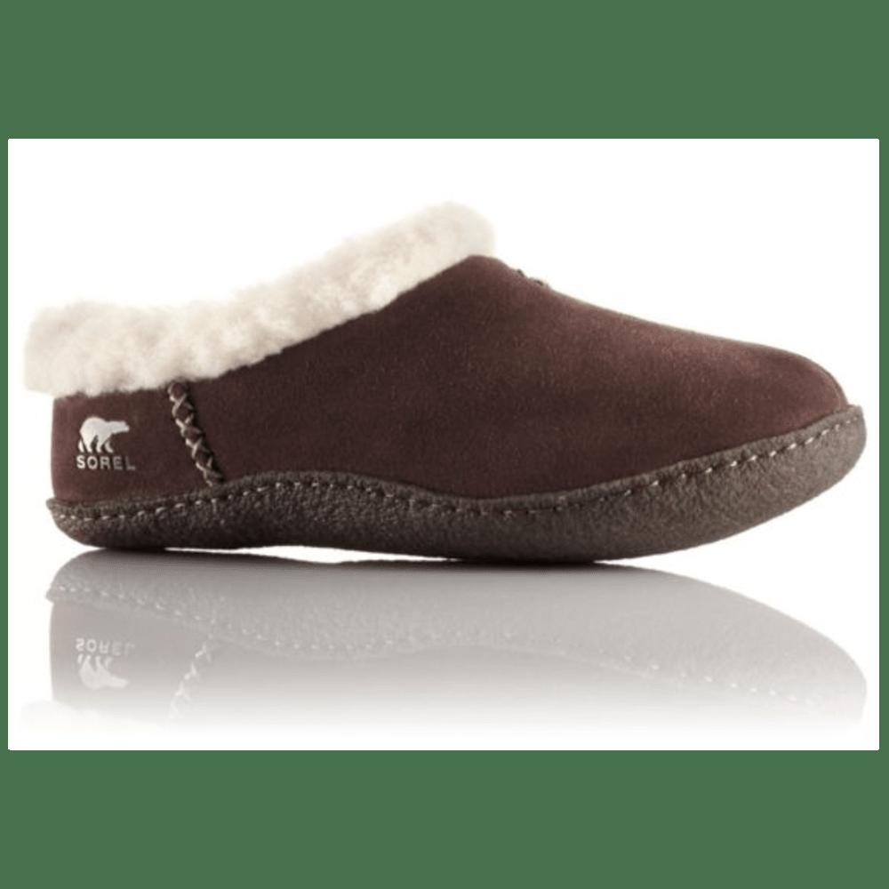 SOREL Women's Nakiska Slippers - HAWK BROWN- 248