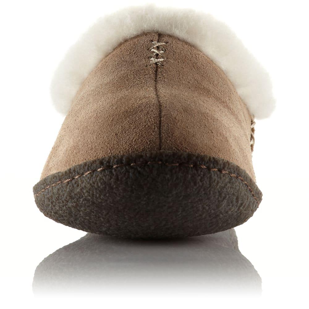 SOREL Women's Nakiska Slippers - BRITISH TAN-265