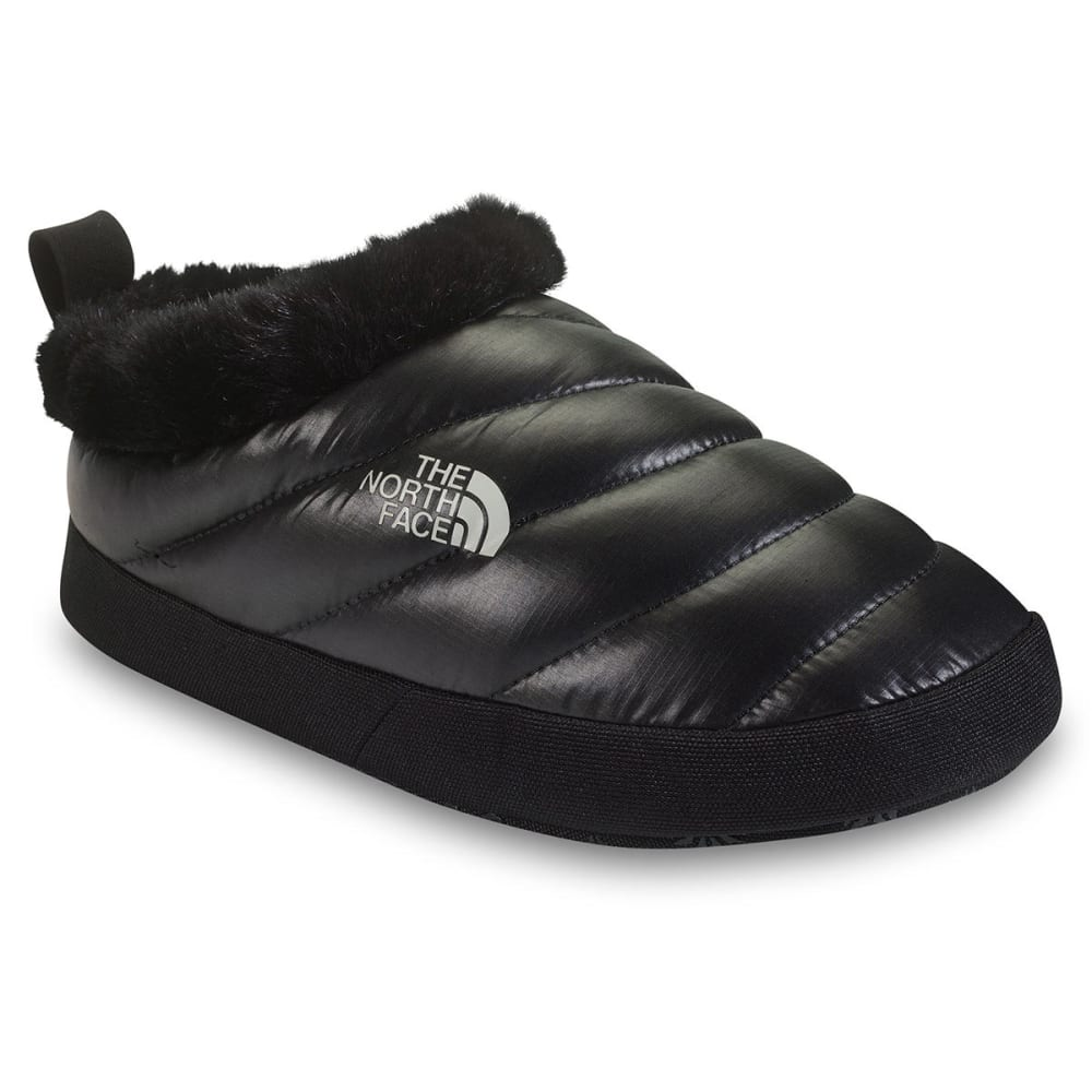 THE NORTH FACE Womenu0026#39;s NSE Tent Mule Fur II Slippers Shiny  sc 1 st  Eastern Mountain Sports & THE NORTH FACE Womenu0027s NSE Tent Mule Fur II Slippers Shiny Black