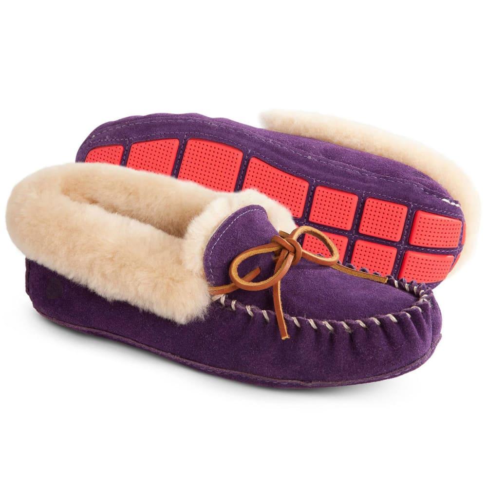 ACORN Women's Moxie Moc Slippers, Violet - VIOLET