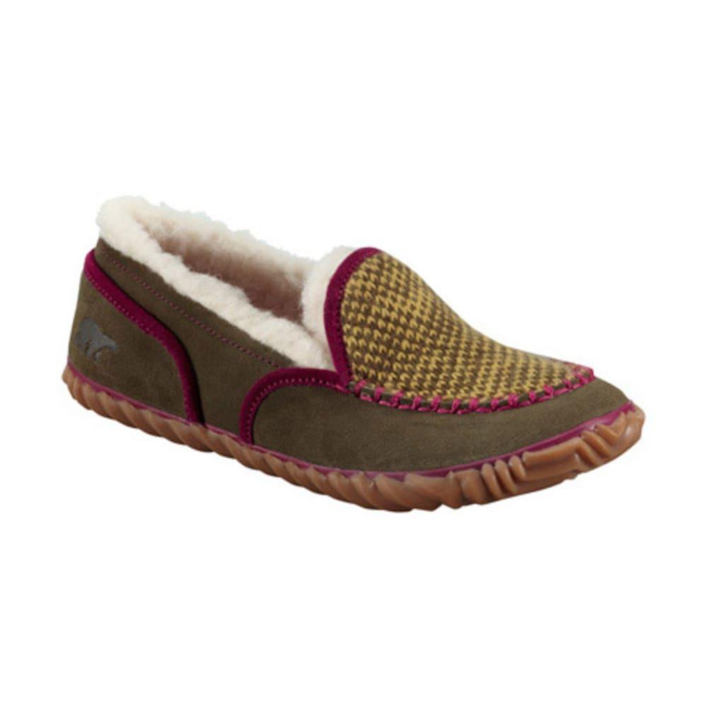 SOREL Women's Tremblant Blanket Slippers - PEATMOSS