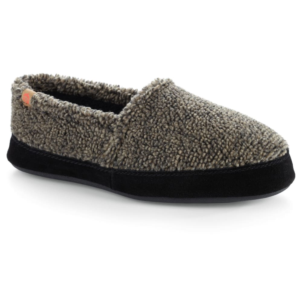 ACORN Men's Moc Slippers, Earth Tex - EARTH TEX