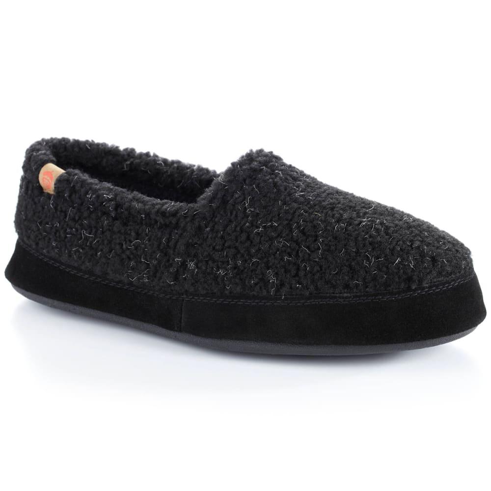ACORN Men's Moc Slippers - BLACK BERBER
