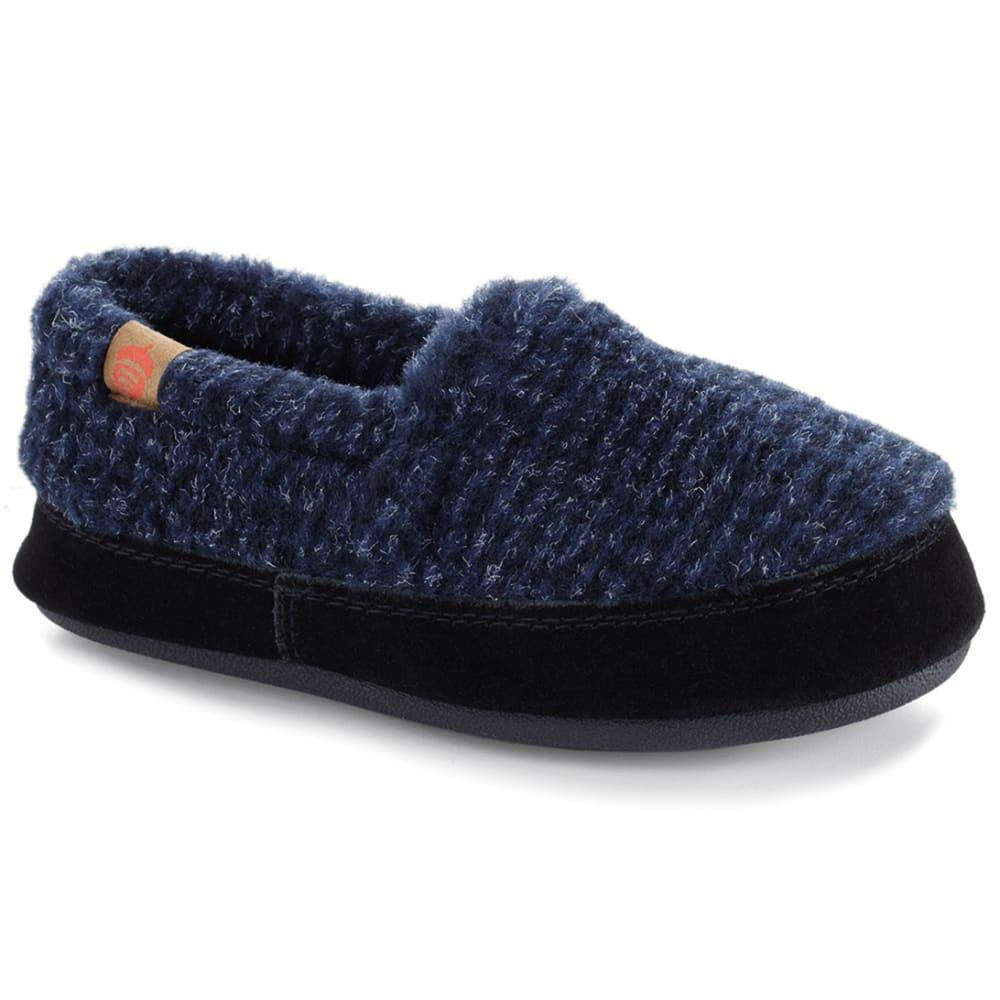 ACORN Men's Moc Slippers - BLUE CHECK