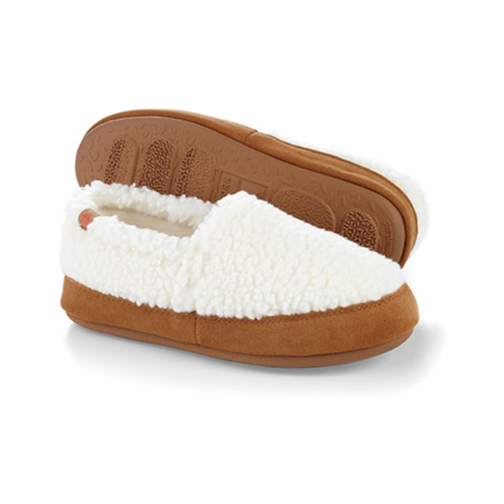 ACORN Women's Moc Slippers - BUFF POPCORN