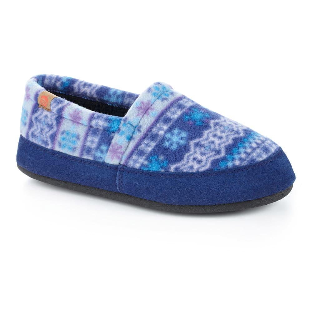 ACORN Women's Moc Slippers, Icelandic Blue - ICELANDIC BLUE
